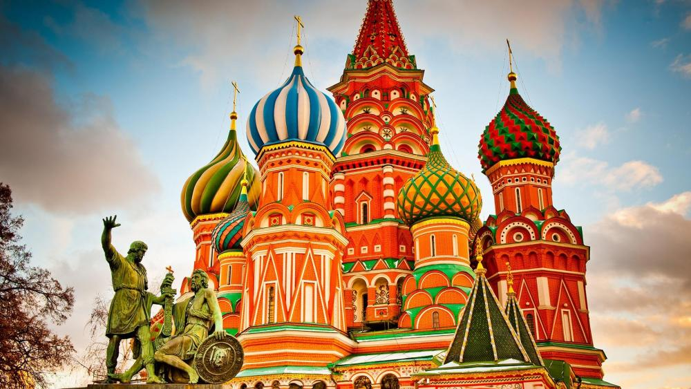 Moscow Building wallpaper