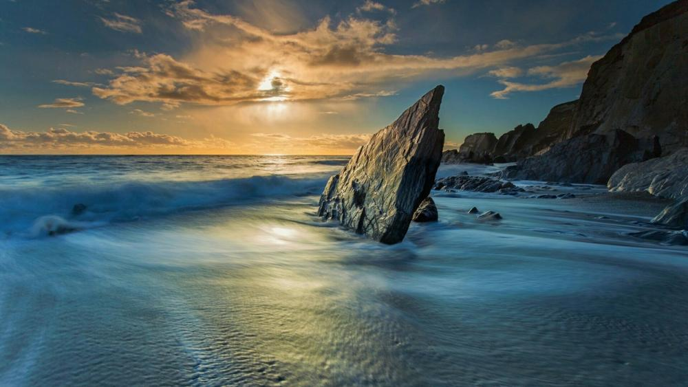Ayrmer Cove - United Kingdom wallpaper