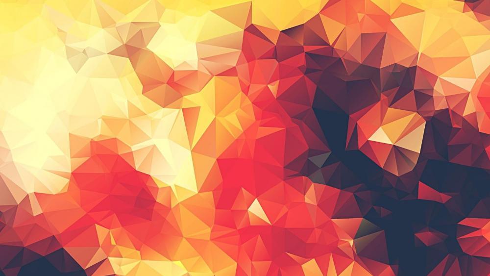 Polygon Low poly art wallpaper