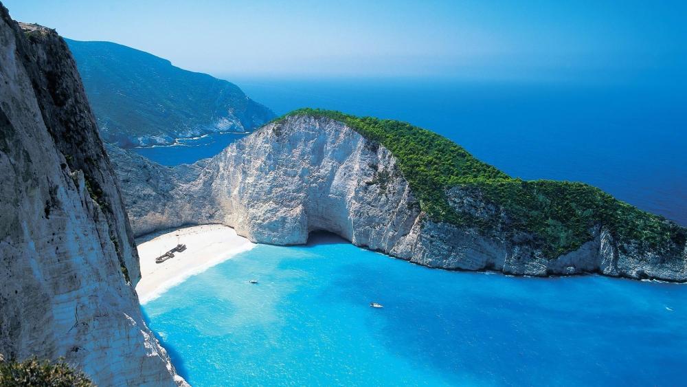 Navagio Bay - Greece wallpaper