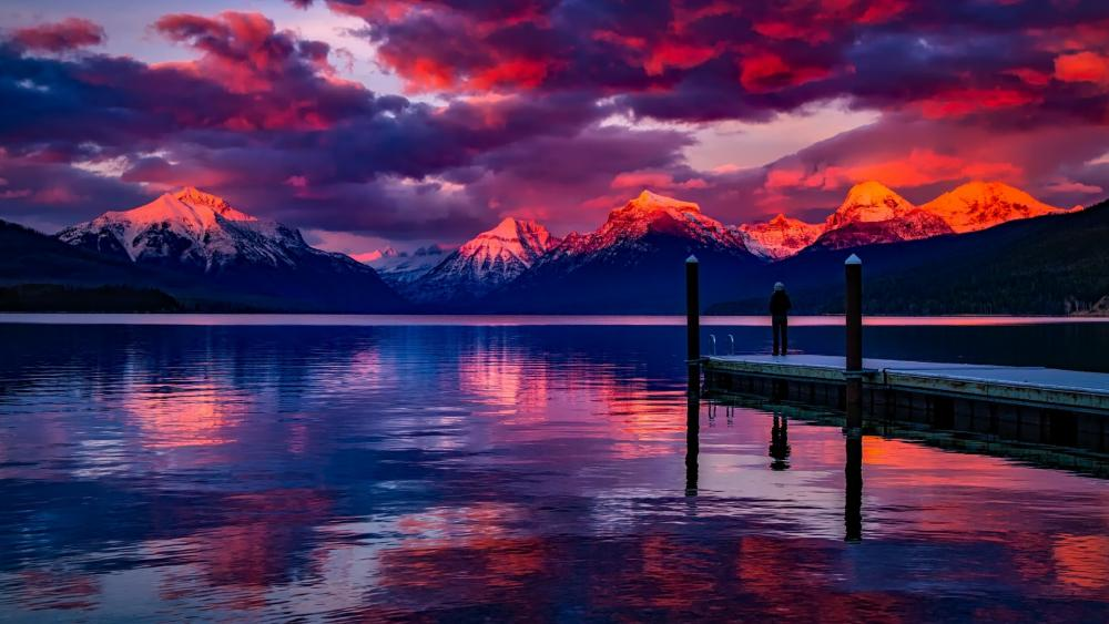 Lake McDonald (Glacier National Park) wallpaper