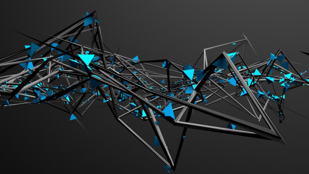 3D Structure wallpaper