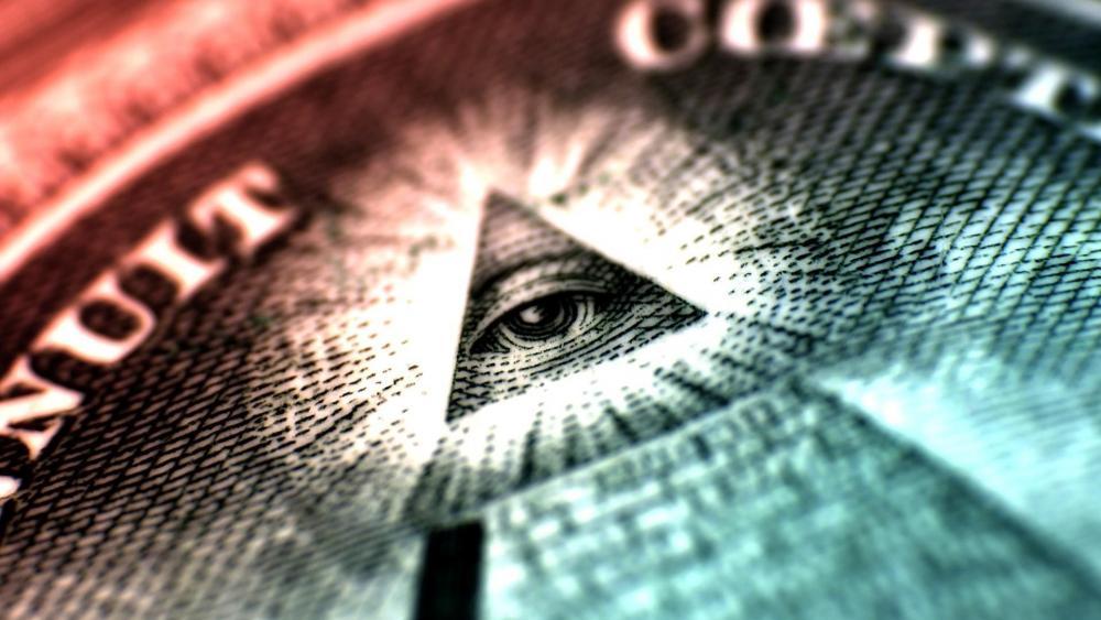 Eye of Providence symbol wallpaper