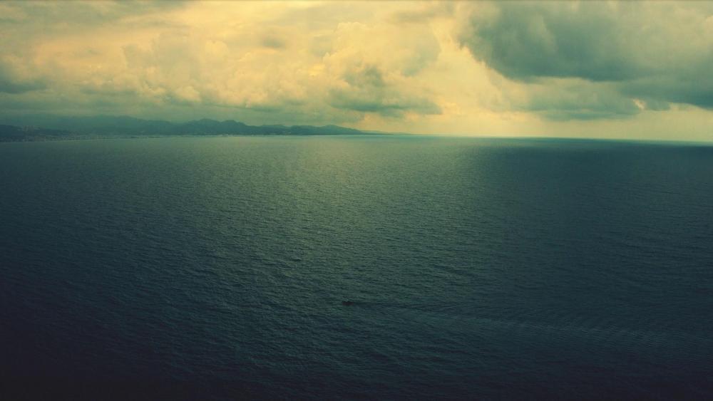 Calm seascape wallpaper