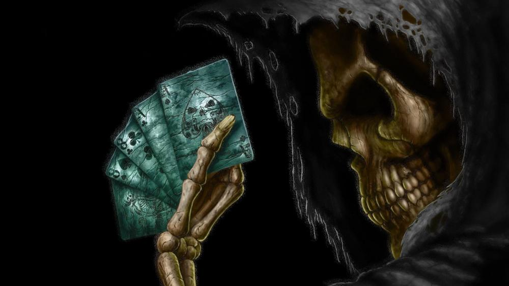 Poker with Death  wallpaper
