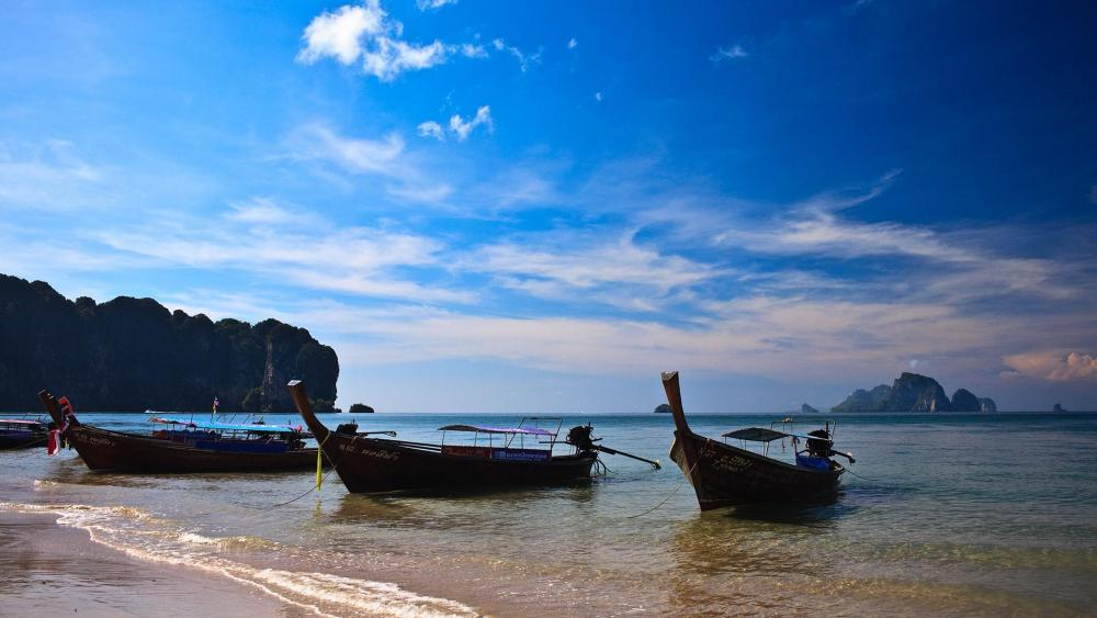Ao Nang beach wallpaper