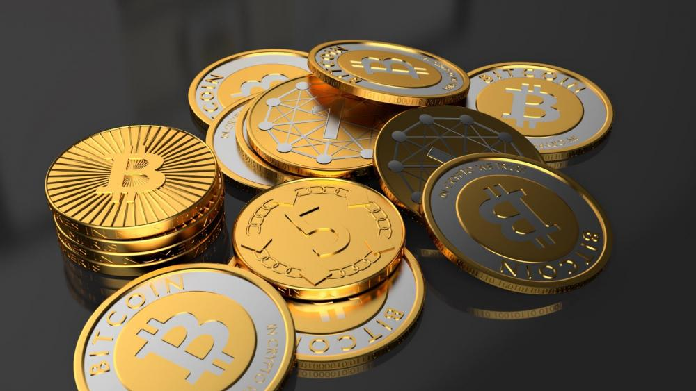 Bitcoin - Cryptocurrency wallpaper
