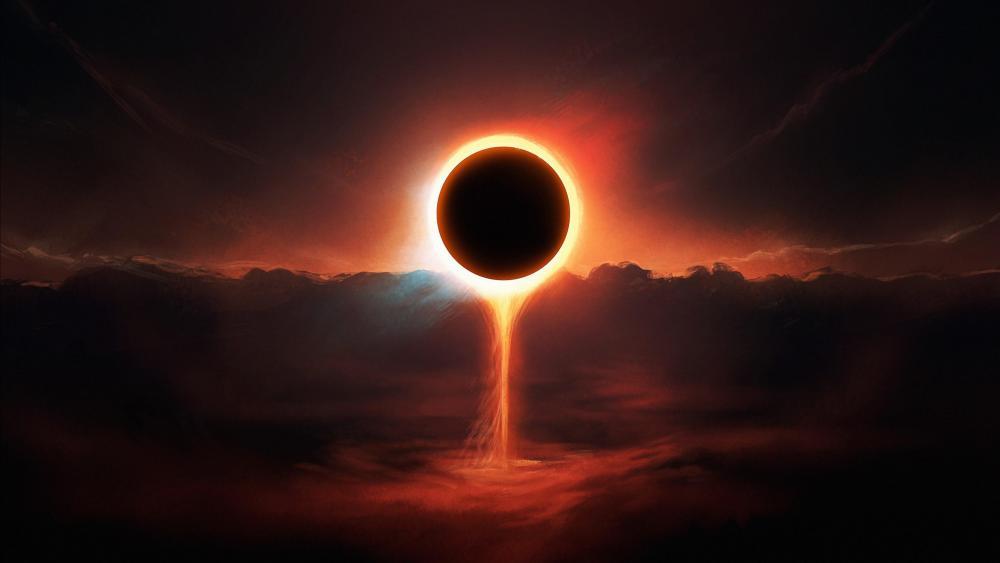 Eclipse Artwork wallpaper