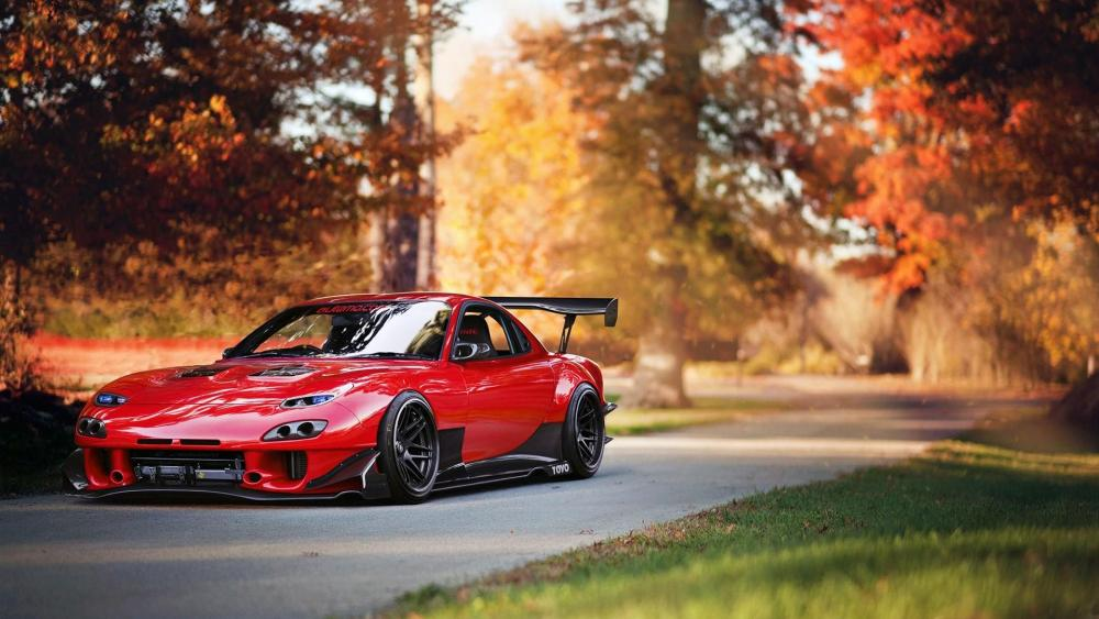 Mazda RX-7 race car wallpaper