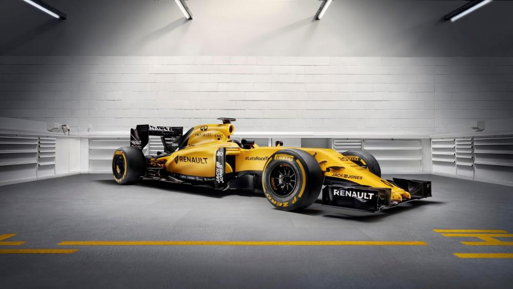 F1 Renault wallpaper