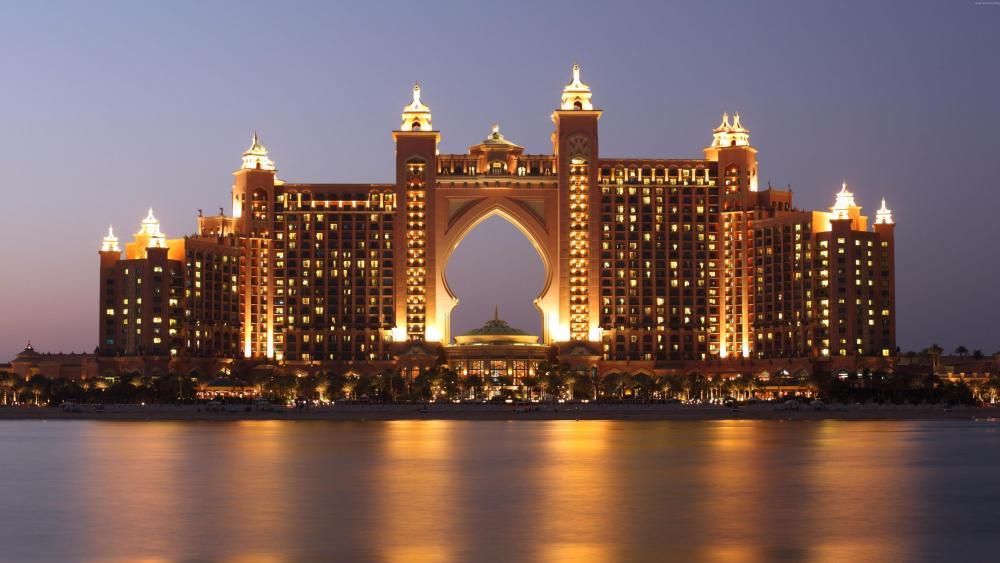 Atlantis, The Palm in Palm Jumeirah (Dubai) wallpaper