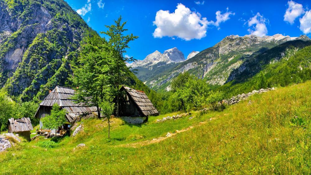 Soca Valley - Bovec, Slovenia wallpaper