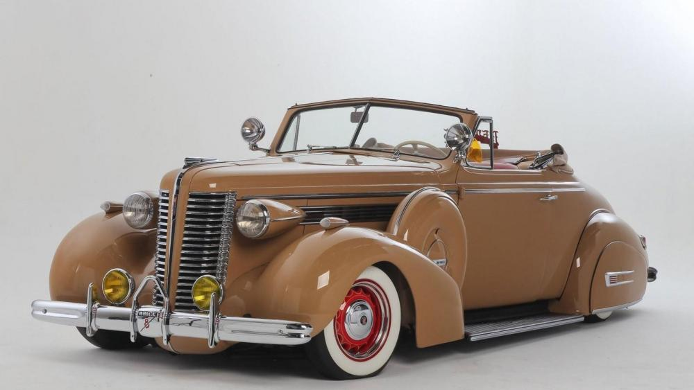 1938 Buick Convertible wallpaper