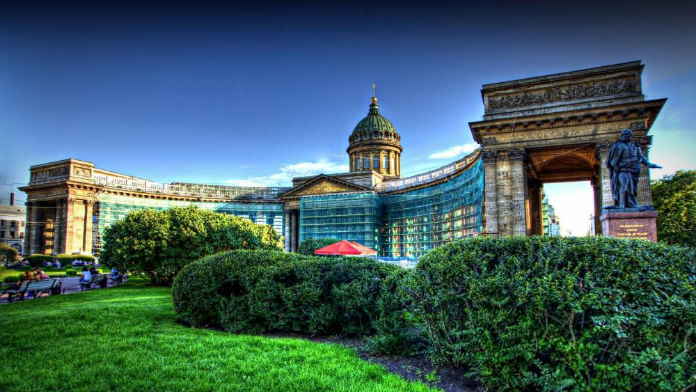 Kazan Cathedral wallpaper