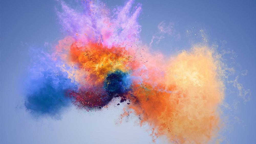 Colourful art wallpaper