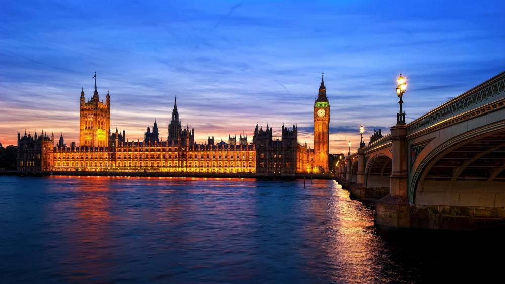 Houses of Parliament - London wallpaper
