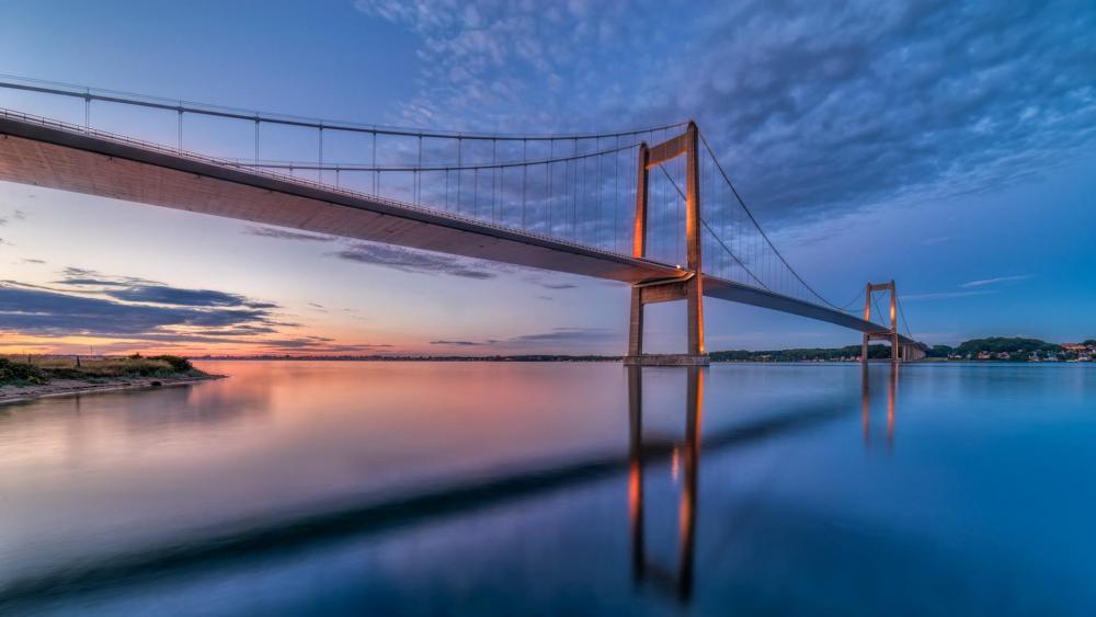 Little Belt Bridge - Denmark wallpaper