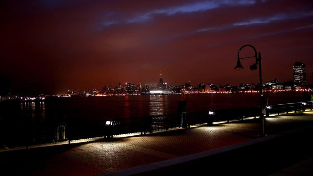 New York City night wallpaper