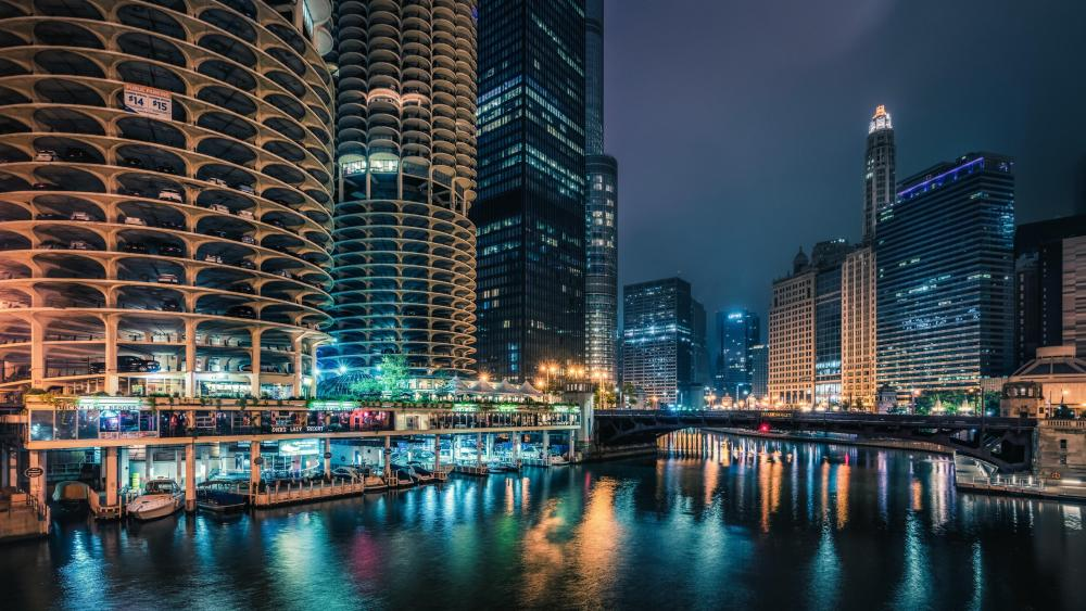 Marina city - Chicago wallpaper