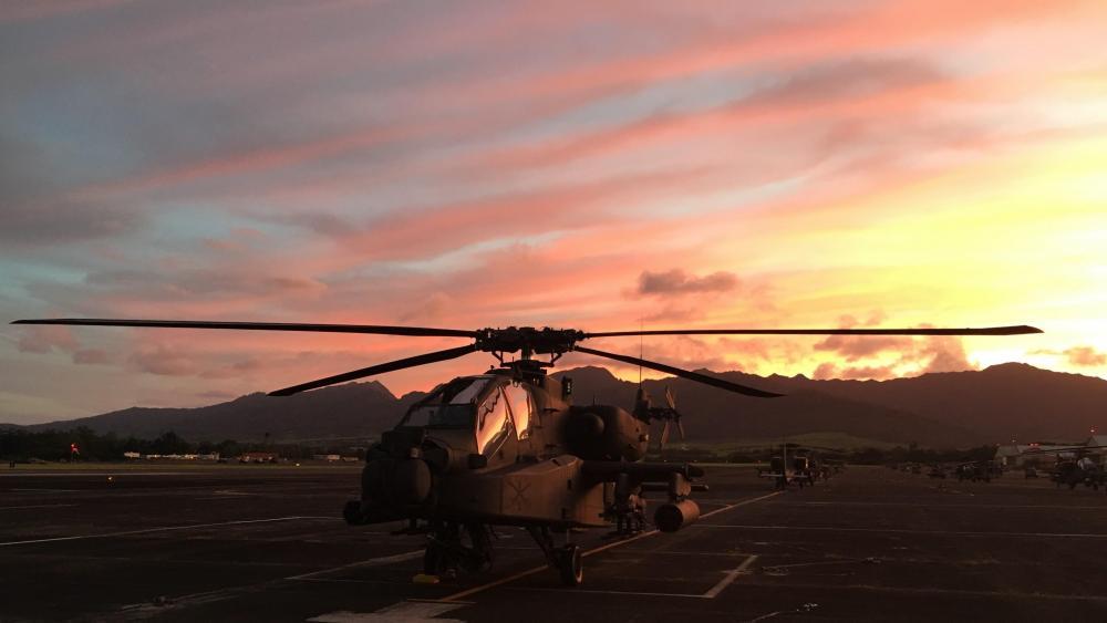 AH-64D 1 wallpaper