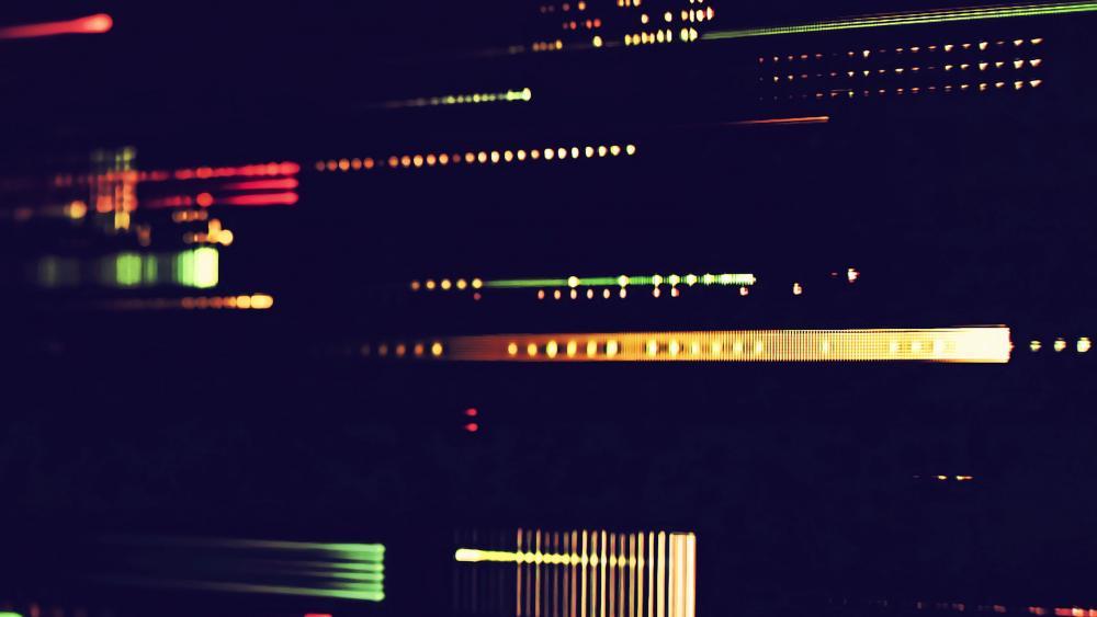 Blurry screen wallpaper