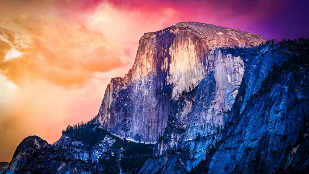 Half Dome - Yosemite National Park wallpaper
