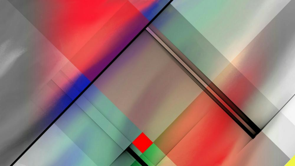 Abstract squares wallpaper