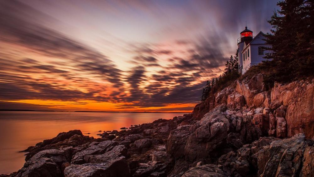 Bass Harbor Head Lighthouse wallpaper