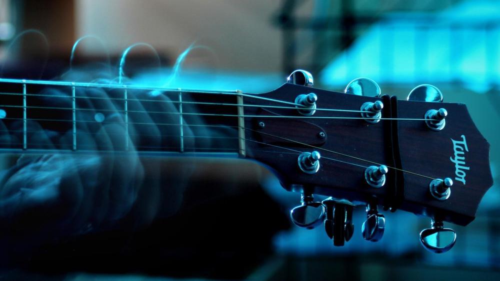 Cool guitar wallpaper