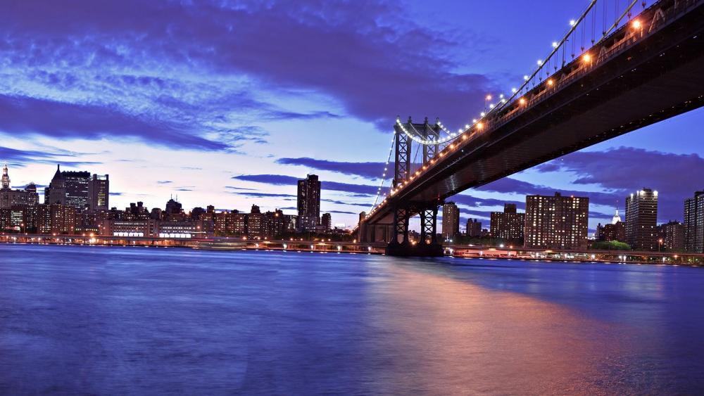 Manhattan Bridge - New York City wallpaper