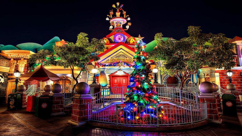Toontown City Hall - Disneyland Park, Anaheim wallpaper