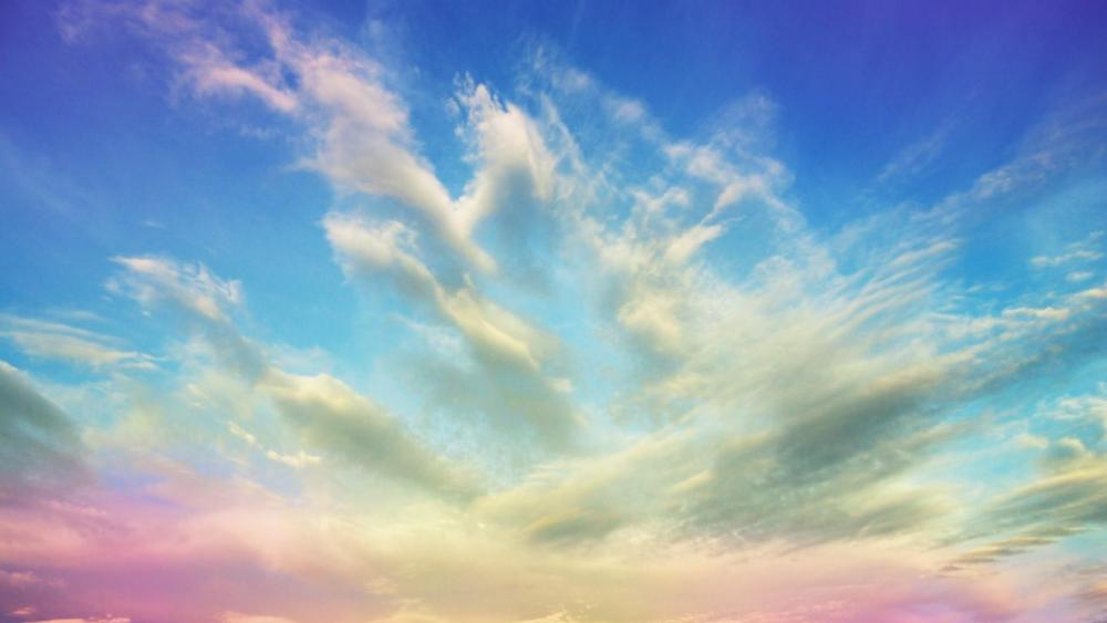 Painted Sky wallpaper
