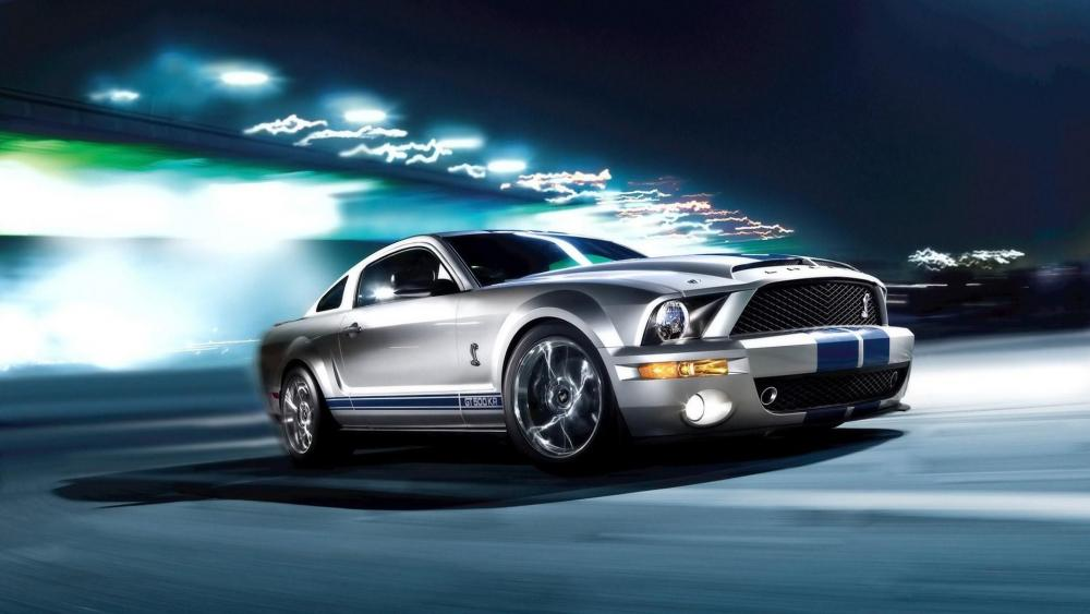 Ford Mustang Shelby Cobra GT500 wallpaper