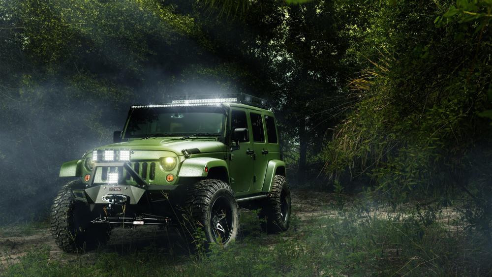 Jeep Wrangler Off Road wallpaper