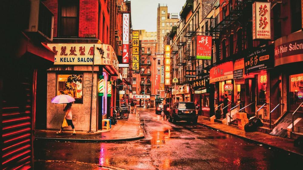Chinatown - New York City wallpaper