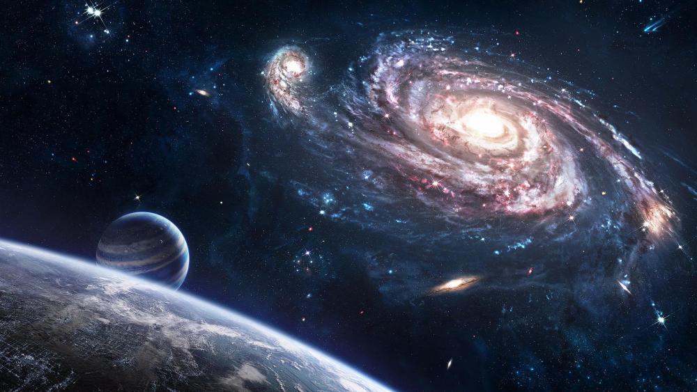 Andromeda Galaxy wallpaper