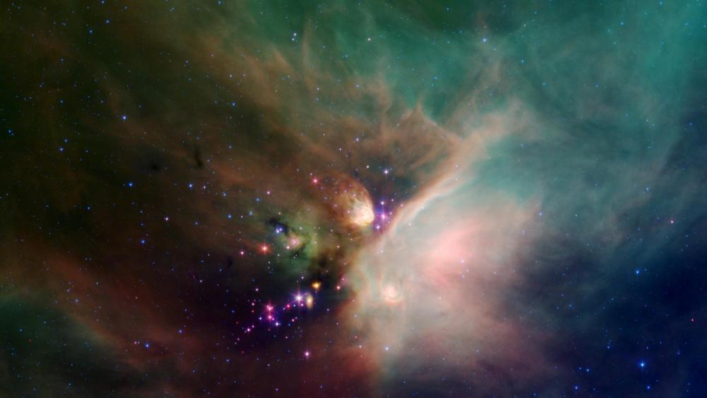 Colorful nebula wallpaper