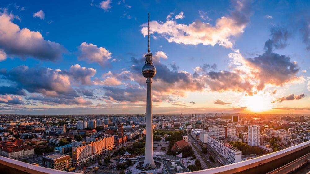 TV Tower in Berlin wallpaper