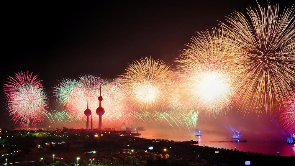 Fireworks Festival wallpaper