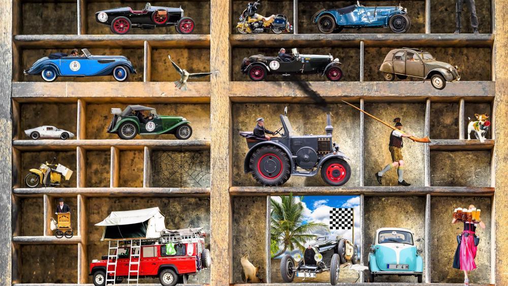 Car model Frame wallpaper