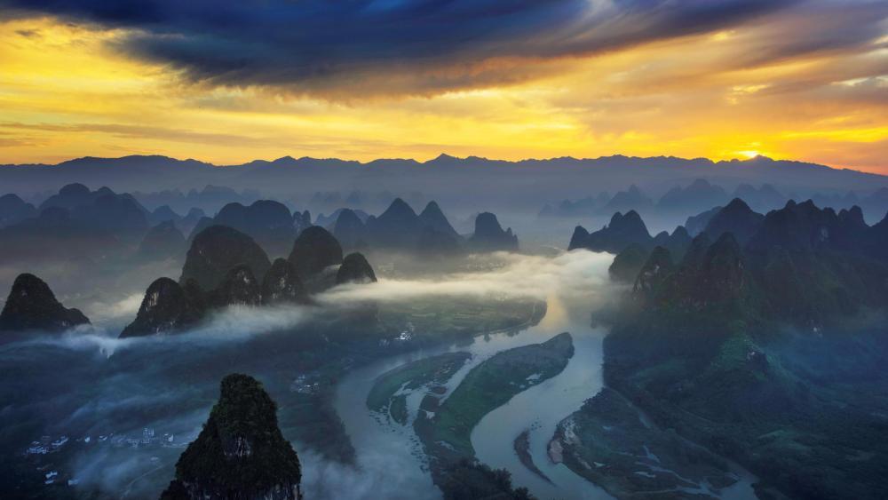 Guilin landscape wallpaper