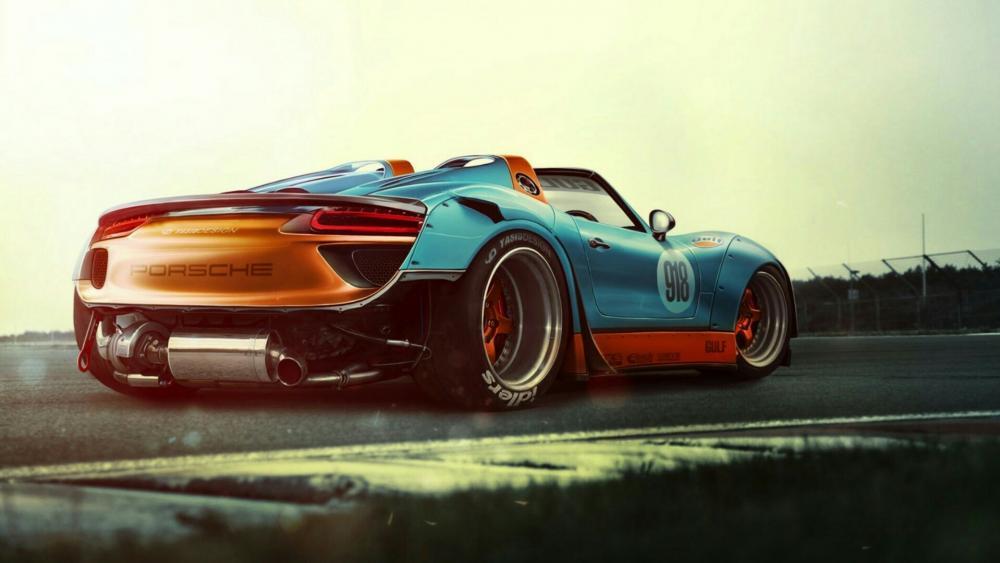Porsche 918 wallpaper