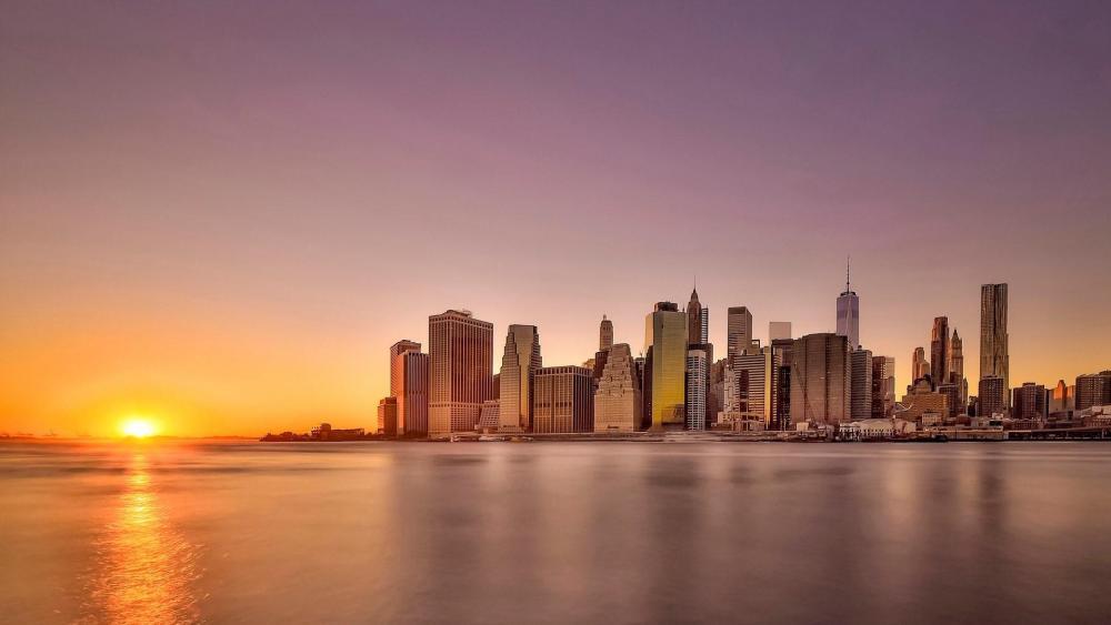 Brooklyn skyline wallpaper