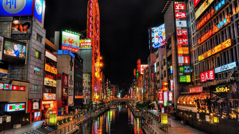 Dotonbori Canal - Osaka wallpaper
