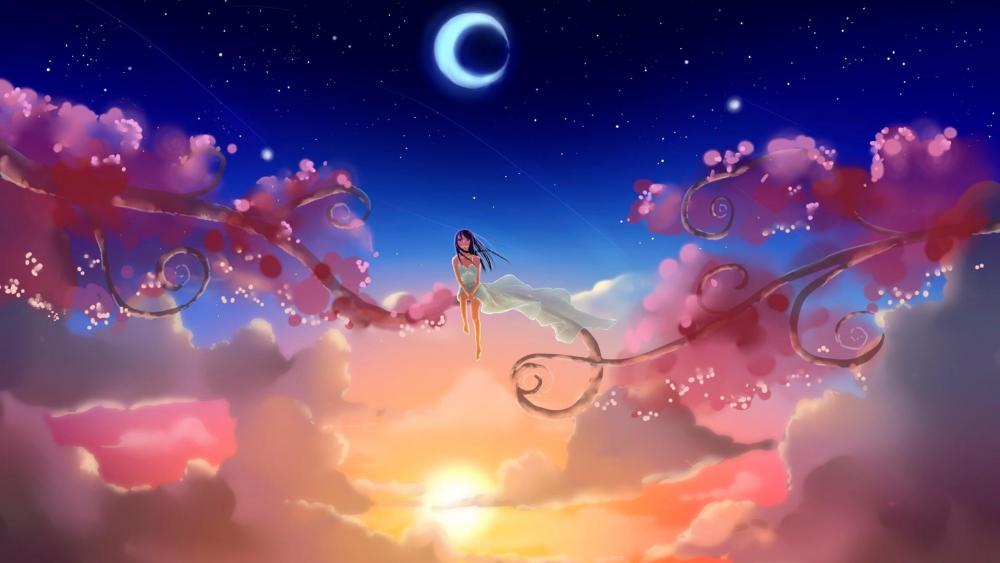 Dream World - Anime art wallpaper