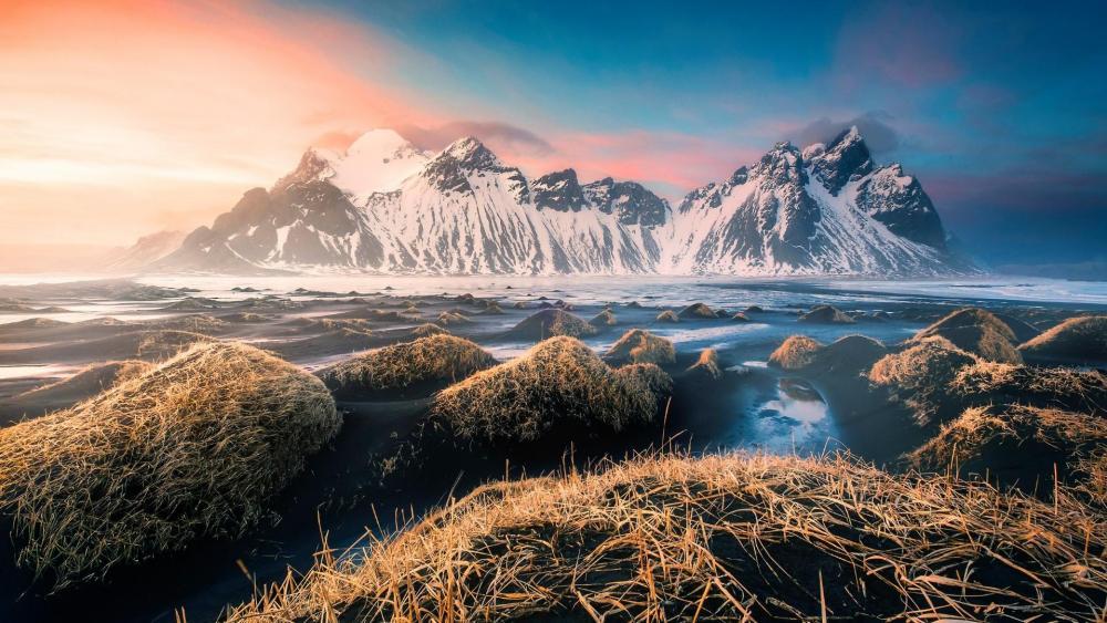 Vestrahorn - Iceland wallpaper