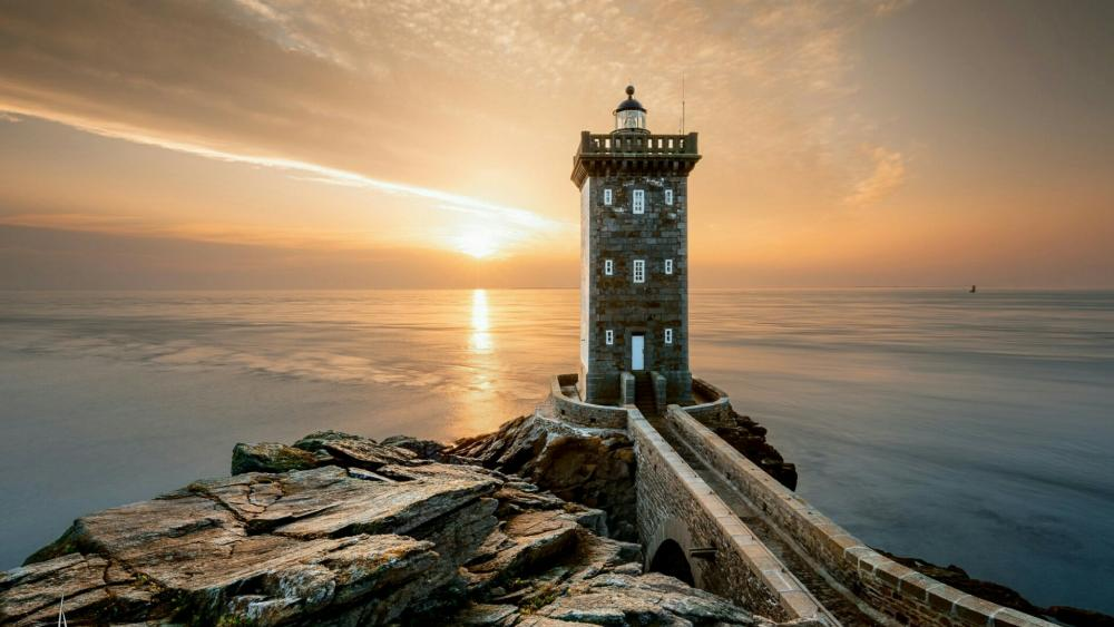 Kermorvan Lighthouse (Le Conquet, France) wallpaper
