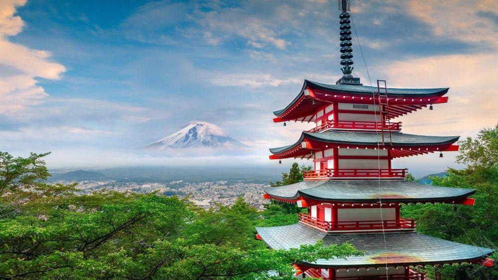 Mount Fuji view wallpaper