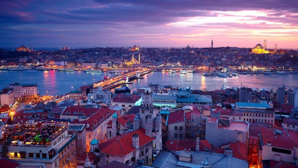 Galata Bridge - Istanbul wallpaper