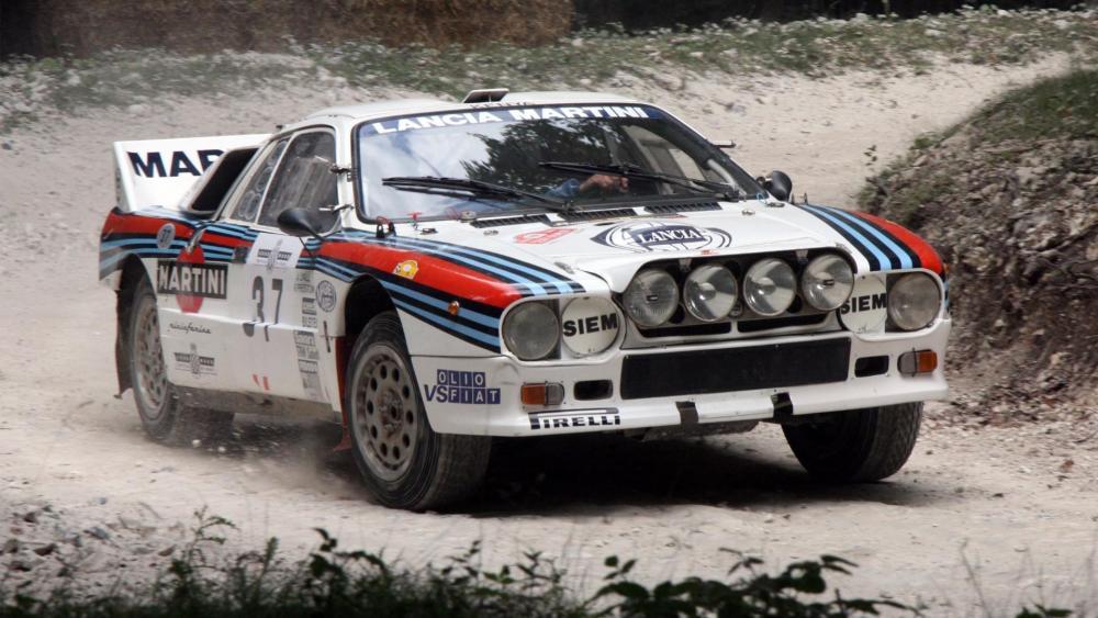 Lancia 037 wallpaper